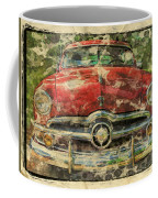 1949 Red Ford Coupe Coffee Mug