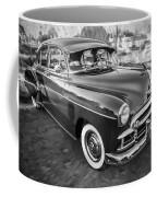 1950 Chevrolet Sedan Deluxe Painted Bw   Coffee Mug