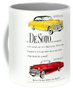 1950 - De Soto Sportsman Convertible - Advertisement - Color Coffee Mug