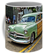 1950 Ford Deluxe Woody Station Wagon Coffee Mug