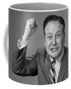 1950s 1960s Portrait Of Angry Man Coffee Mug