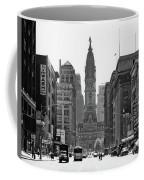 1950s Downtown Philadelphia Pa Usa Coffee Mug