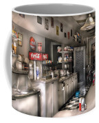 1950's - The Soda Fountain Coffee Mug by Mike Savad