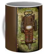 1950s Yard Hand Tractor Coffee Mug