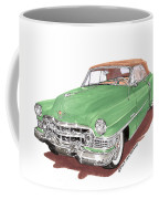 1951 Cadillac Series 62 Convertible Coffee Mug