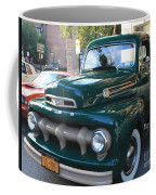 1952  Ford Pick Up Truck Front And Side View Coffee Mug