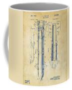 1953 Aerial Missile Patent Vintage Coffee Mug