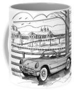 1953 Chevrolet Corvette Coffee Mug