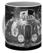 1954 Jaguar Xk 120 Se Ots Bw Coffee Mug