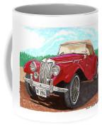 1954 M G T F  Coffee Mug