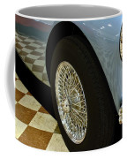 1956 Austin Healey Wheel Coffee Mug