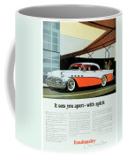 1956 - Buick Roadmaster Convertible - Advertisement - Color Coffee Mug