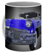 1956 Buick Special Riviera Coupe-blue Coffee Mug
