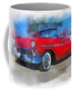 1956 Chevy Car Photo Art 01 Coffee Mug