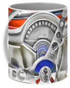 1956 Chevy Corvette Dash Wowc Coffee Mug