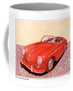 1956 Porsche 356 Cabriolet Coffee Mug