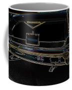 1957 Chevrolet Rear View Art Black_varooom Tag Coffee Mug