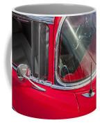 1957 Chevy Bel Air Chrome Coffee Mug