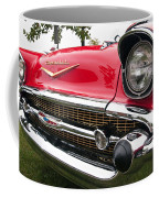 1957 Chevy Bel Air Front End Coffee Mug