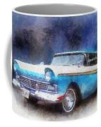 1957 Ford Classic Car Photo Art 02 Coffee Mug