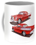 1957 Studebaker Silver Hawk Coffee Mug