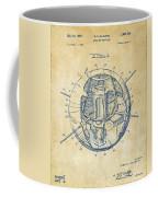 1958 Space Satellite Structure Patent Vintage Coffee Mug