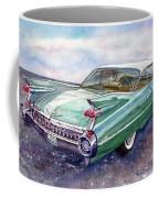 1959 Cadillac Cruising Coffee Mug