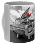 1959 Cadillac Tail Fins Coffee Mug