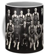 1959 University Of Michigan Basketball Team Photo Coffee Mug