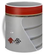 1960 Corvette Emblem And Side Moulding Coffee Mug