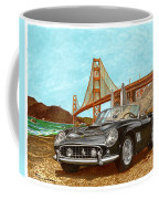 1960 Ferrari 250 California G T Coffee Mug
