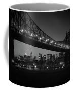 1960s Queensboro Bridge And Manhattan Coffee Mug