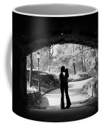 1960s Silhouette Of Anonymous Young Coffee Mug