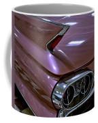 1961 Cadillac Coupe 62 Taillight Coffee Mug
