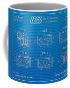 1961 Lego Building Blocks Patent Art 1 Coffee Mug