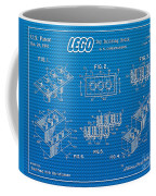 1961 Lego Building Blocks Patent Art 2 Coffee Mug