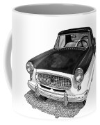 1961 Nash Metro In Black White Coffee Mug