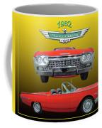 1962 Ford T-bird Sport Coffee Mug