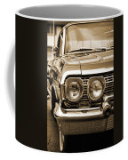 1963 Chevrolet Impala Ss In Sepia Coffee Mug