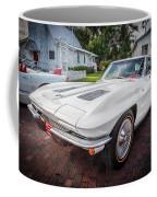1963 Chevy Corvette Coupe Painted  Coffee Mug