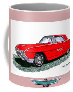 1963 Ford Thunderbird Coffee Mug by Jack Pumphrey