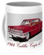 1964 Cadillac Coupe De Ville Coffee Mug