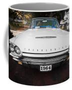 1964 Ford Thunderbird Painted Coffee Mug