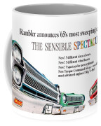 1965 - Rambler - Ambassador - American - Automobile Advertisement - Color Coffee Mug