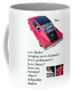 1965 - Rambler Marlin - Automobile Advertisement - Color Coffee Mug