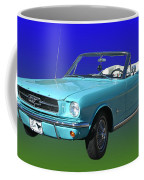 1965 Mustang Convertible Coffee Mug