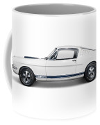 1965 Shelby Gt350 Mustang Retro Sports Car Coffee Mug