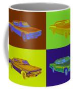 1966 Chevrolet Caprice 427 Muscle Car Pop Art Coffee Mug