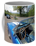 1966 Convertible Mustang On Tour In The Cotswolds Coffee Mug