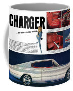 1966 Dodge Charger - New Leader Of The Dodge Rebellion Coffee Mug